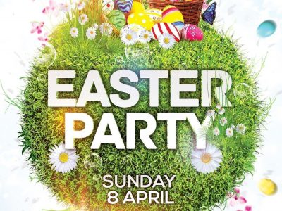 Easter Party Event Flyer Design Photoshop Tutorial