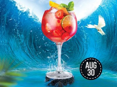 Summer Cocktail Flyer photoshop tutorial