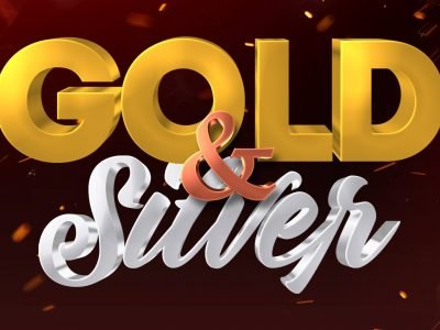 Silver and Gold 3D Text Effect Photoshop Tutorial